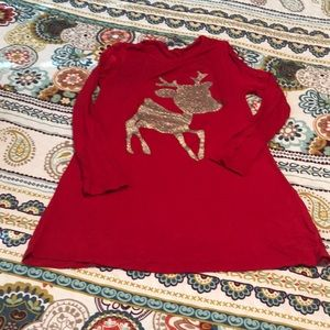 Girl's Christmas boutique tunic
